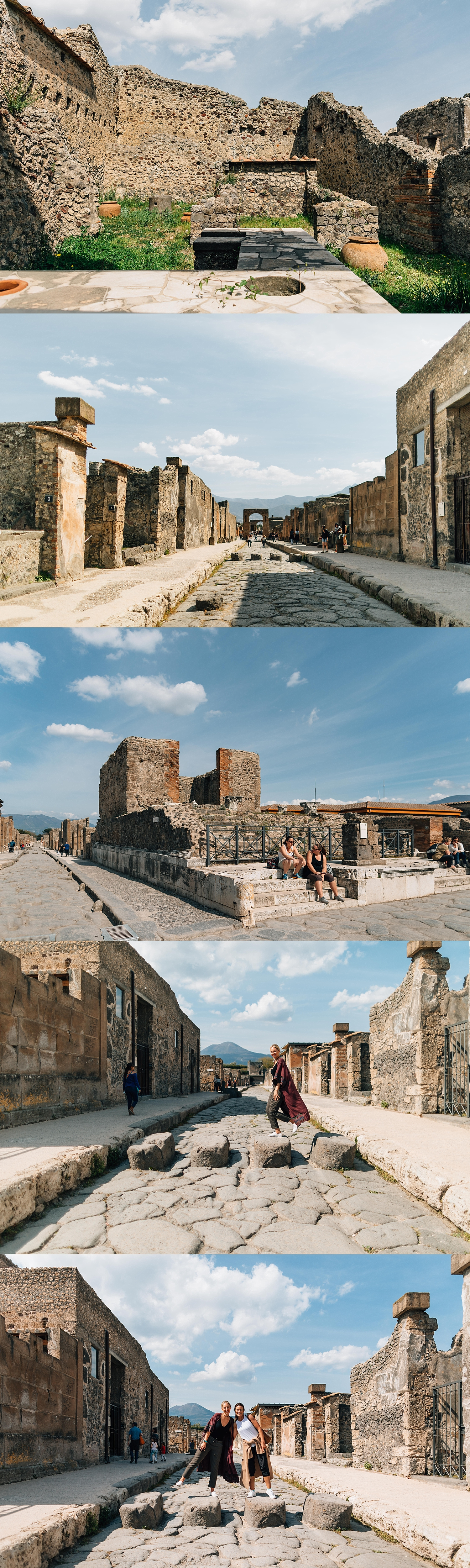 Stepping-stones at Pompeii
