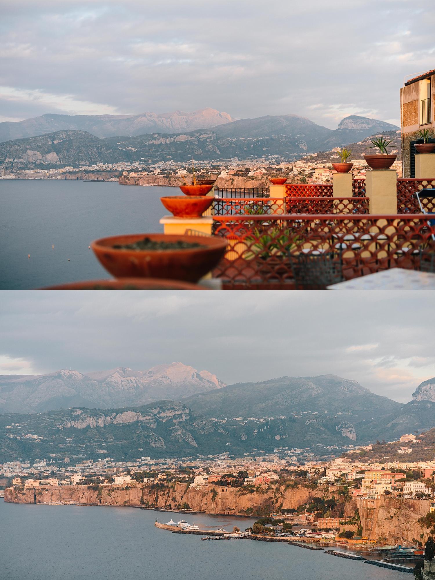 View from Hotel La Tonnarella