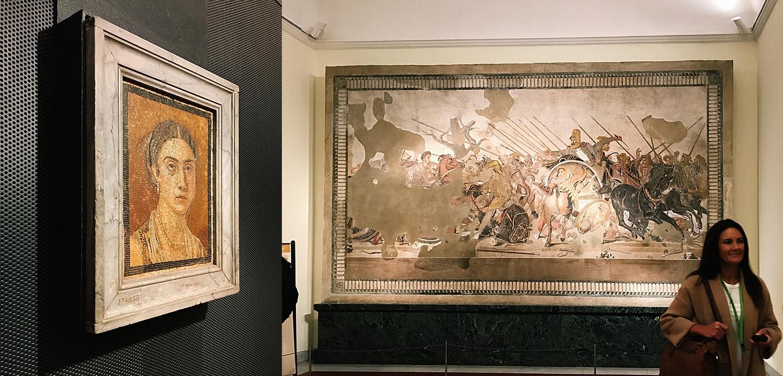 Left - Battle of Alexander