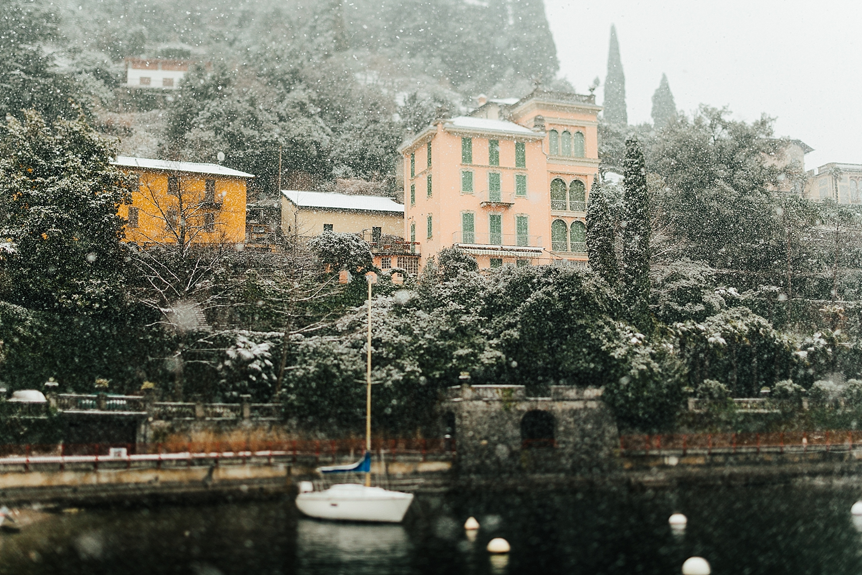 Varenna, Italy - March 2018