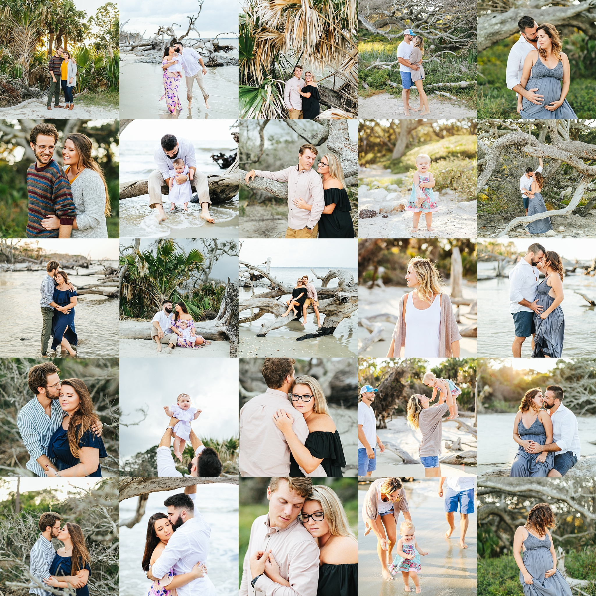 Driftwoodbeach - mini sessions | Jekyll island photographer