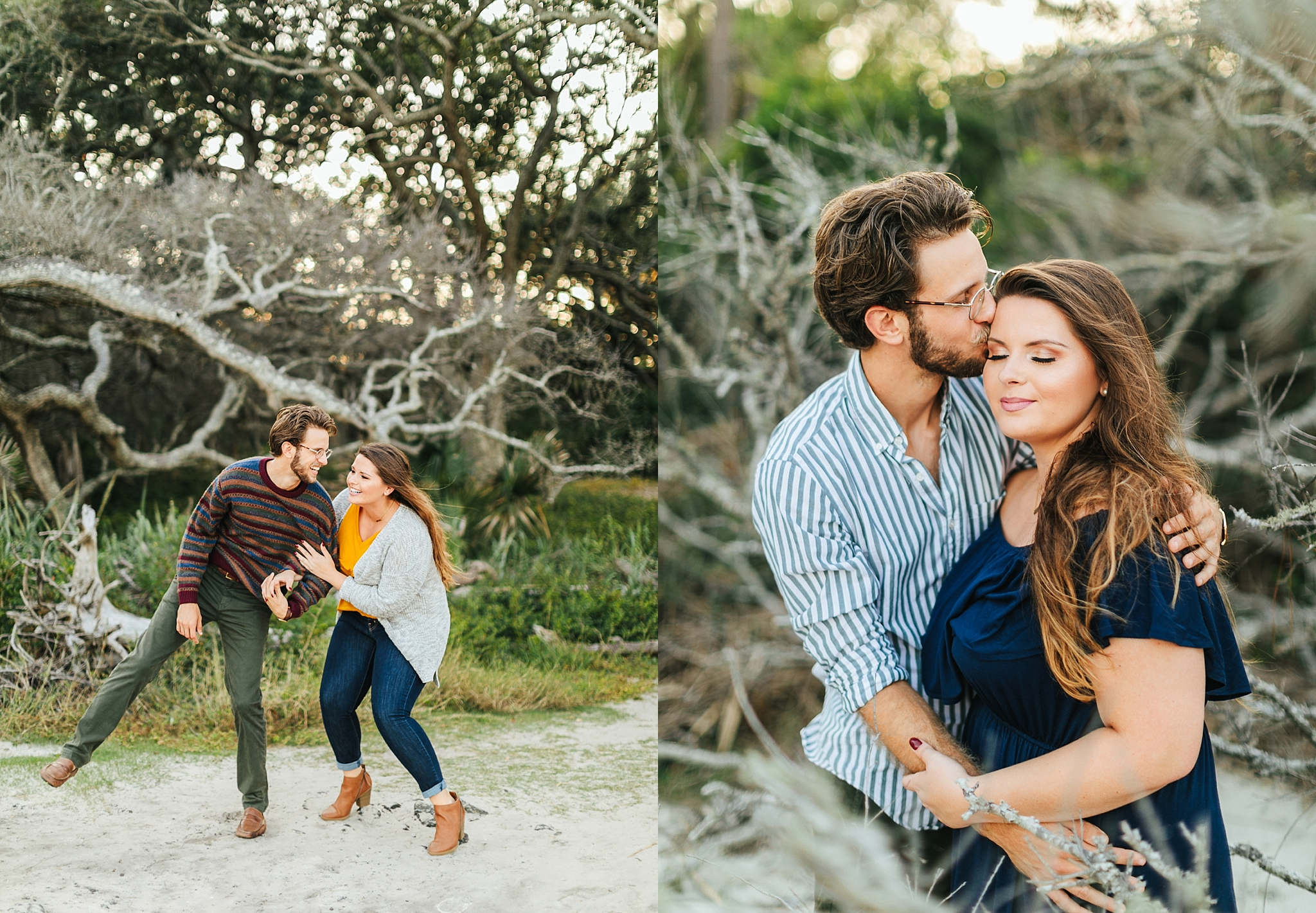 couple - caroline & dylan | Driftwood beach