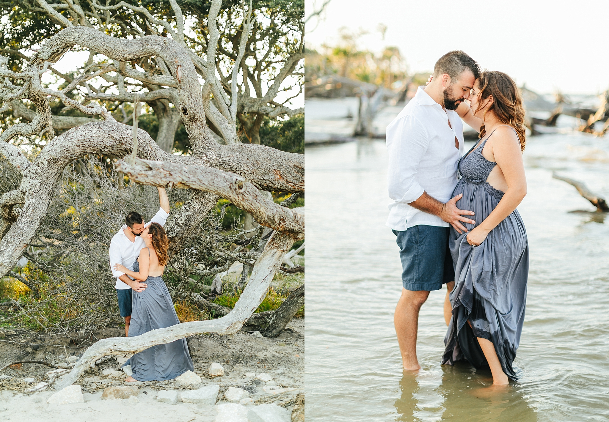Maternity - Dollie & jay | driftwood beach