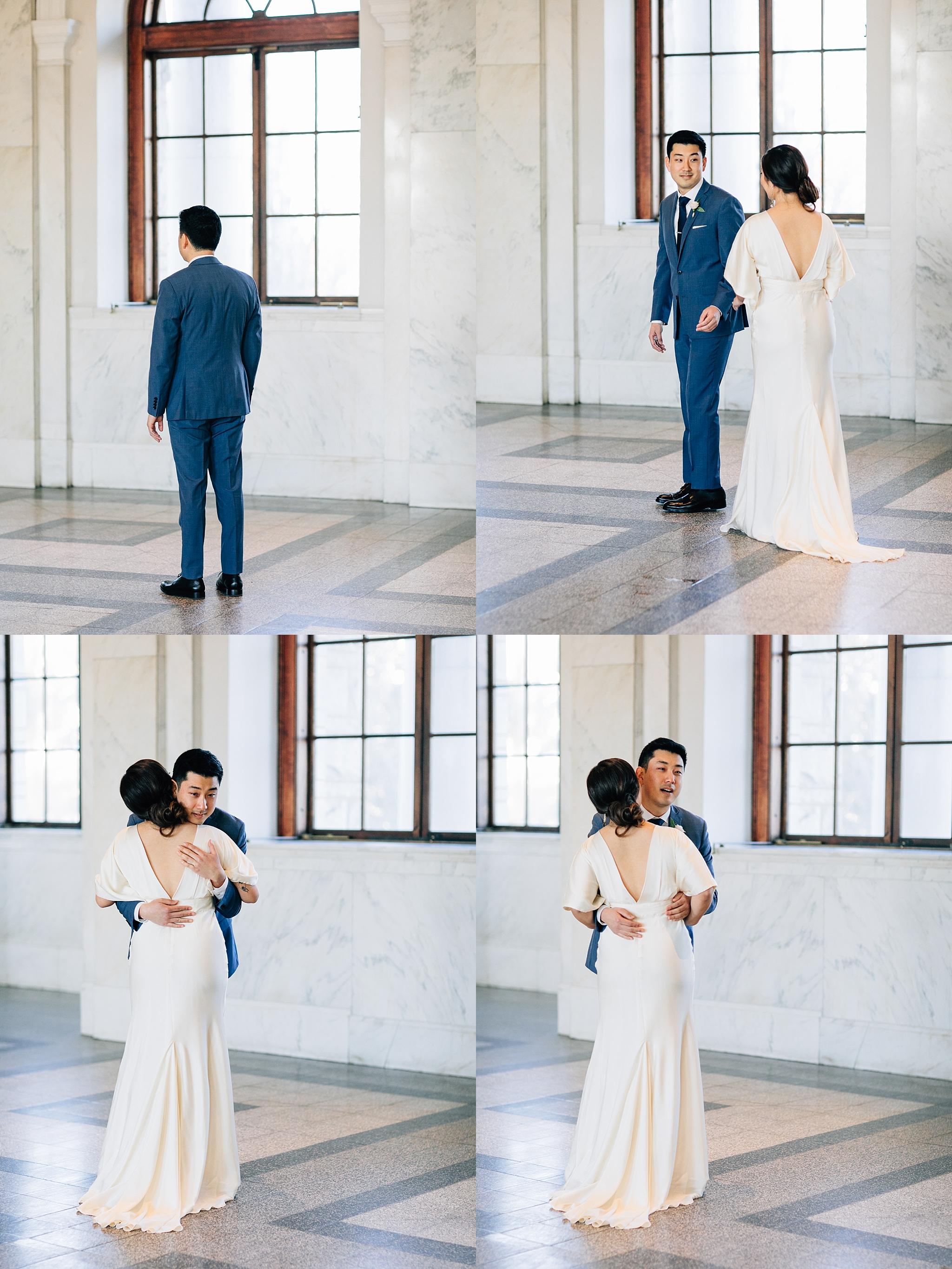 first-look-bride-groom