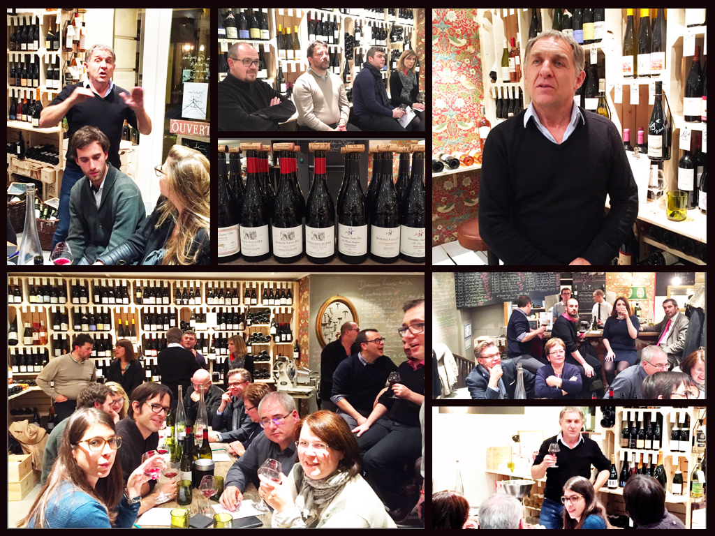 Dégustation Rhône - le 3 nov 2016 avec Yves Gras du Domaine Santa Duc (Gigondas)