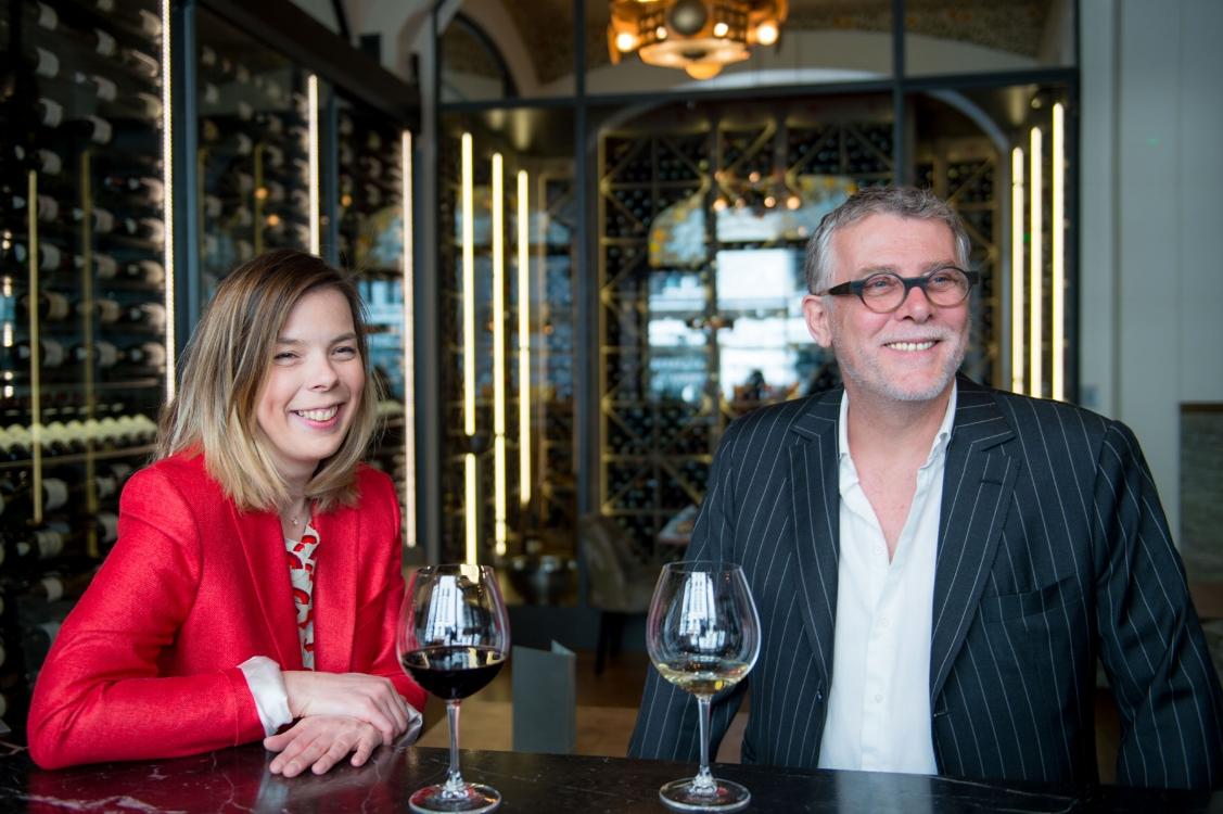 Carole Colin and Denis Jamet