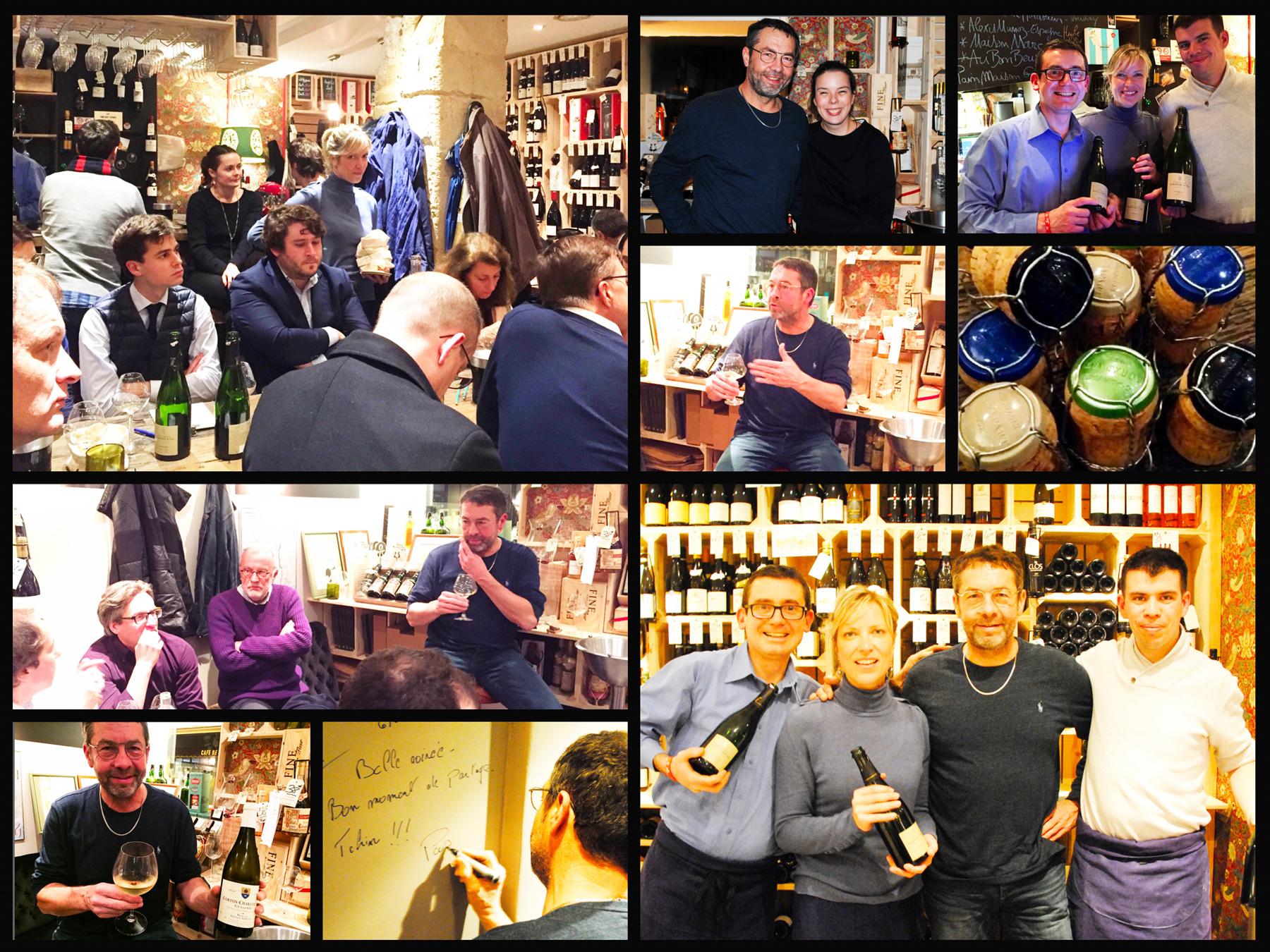 Dégustation Pascal Agrapart (Avize - Champagne) - le 7 décembre 2017