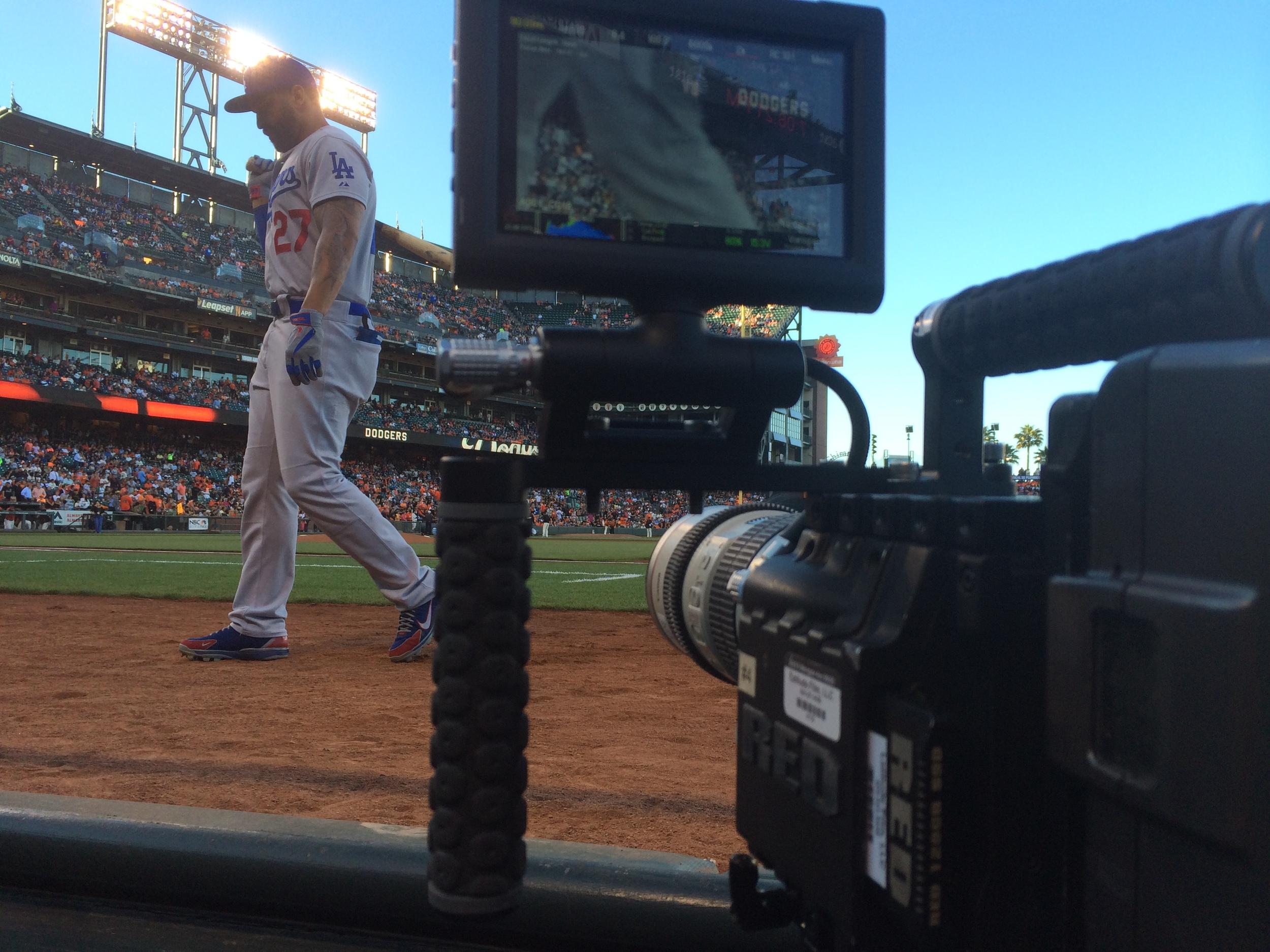 BackStage Dodgers for Time Warner