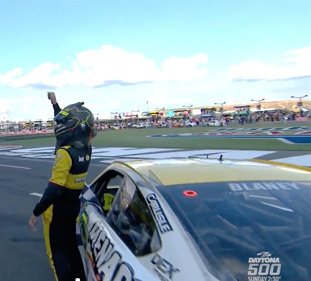 NASCAR Uses Hamish's 'Trouble' For Daytona 500 Promo - March 30, 2019