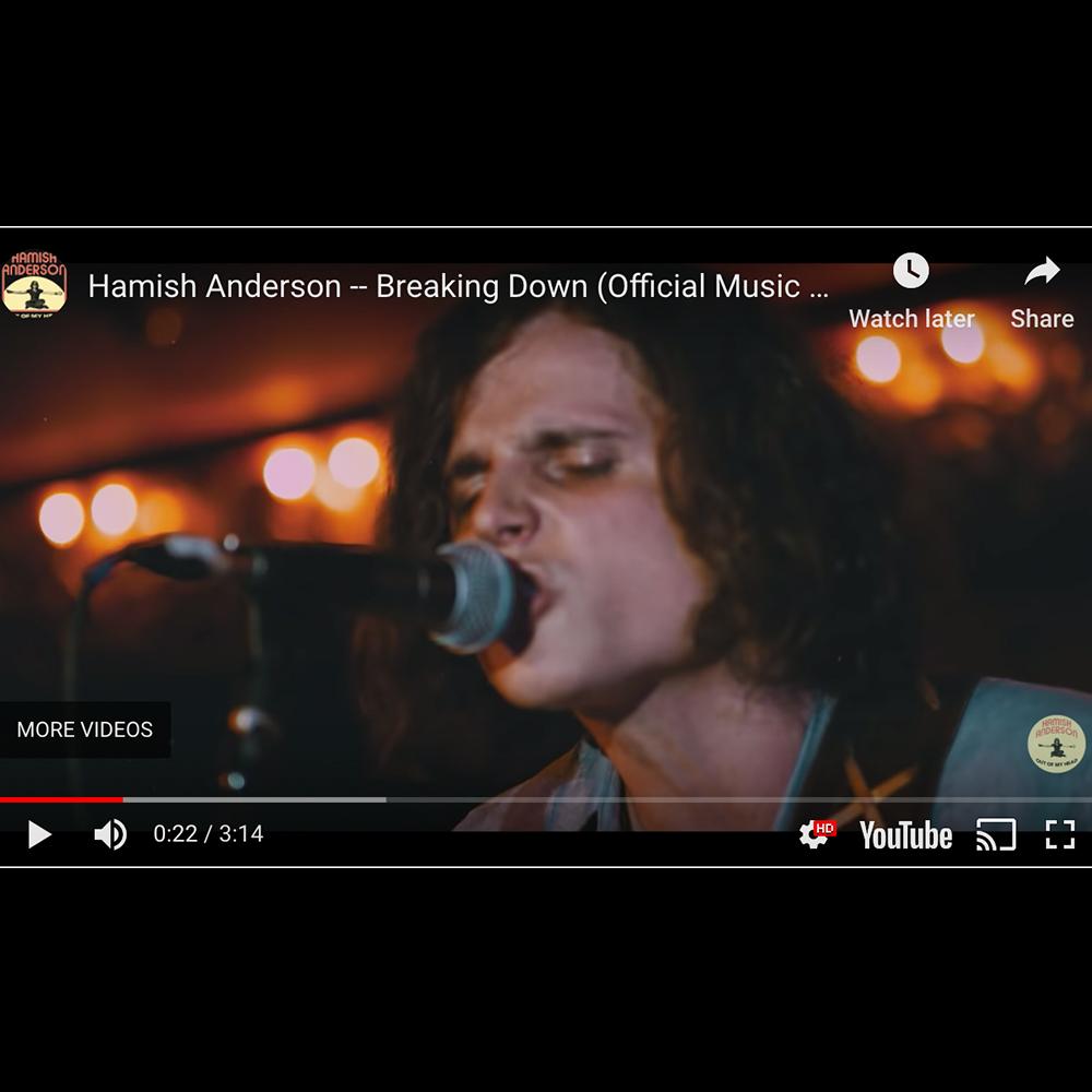Americana Highway Premieres Hamish's Breaking Down Video - May 29, 2019