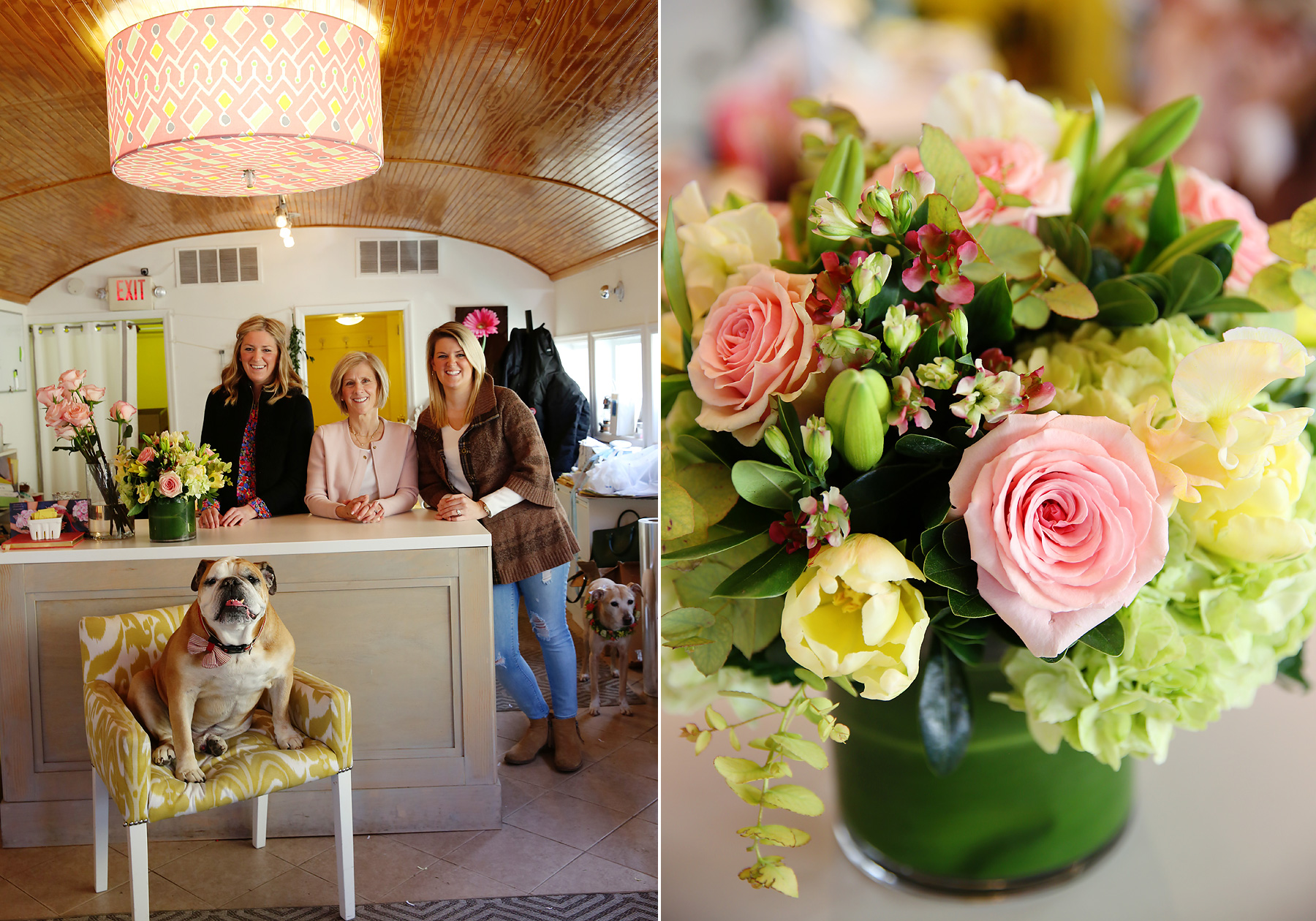 NYC and NJ based lifestyle photographer Jennifer Lavelle Photography -  lifestyle, interiors, branding.  Bloomers Designs in Chatham, NJ for Life in a Train Town