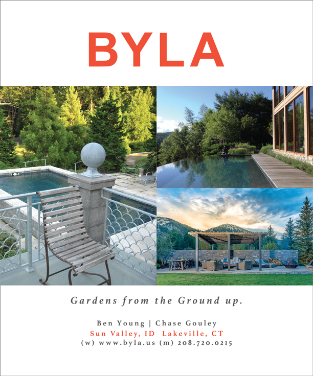 BYLA ad in Luxe Magazine, July 2015