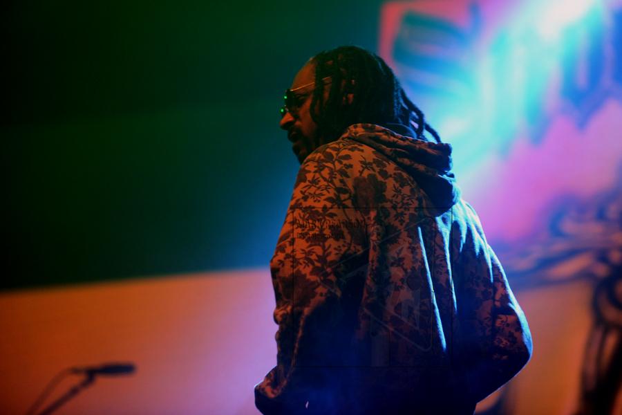 Snoop Dogg at Watergate Bay, Cornwall. Gansgta init