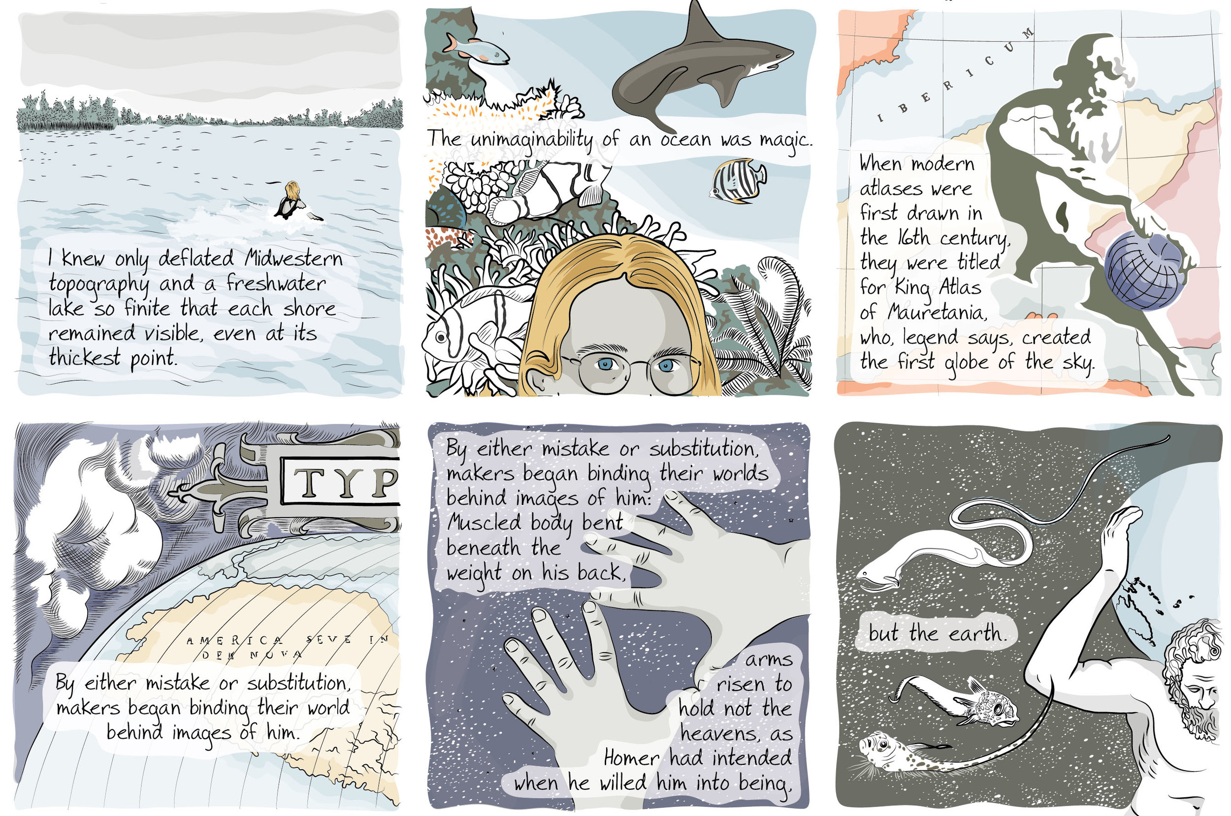 An Illustrated Homage to the Oceans Atlas