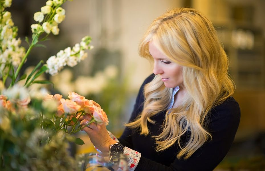 """""""Les Fleurs in Andover is known for its dreamy, French-inspired florals, but owner Sandra Sigman also loves sharing her skills with others. That's why Sigman hosts classes and workshops throughout the year that have proved super popular and sell out quickly""""   For more information about Les Fleurs visit  https://lesfleurs.com/"""