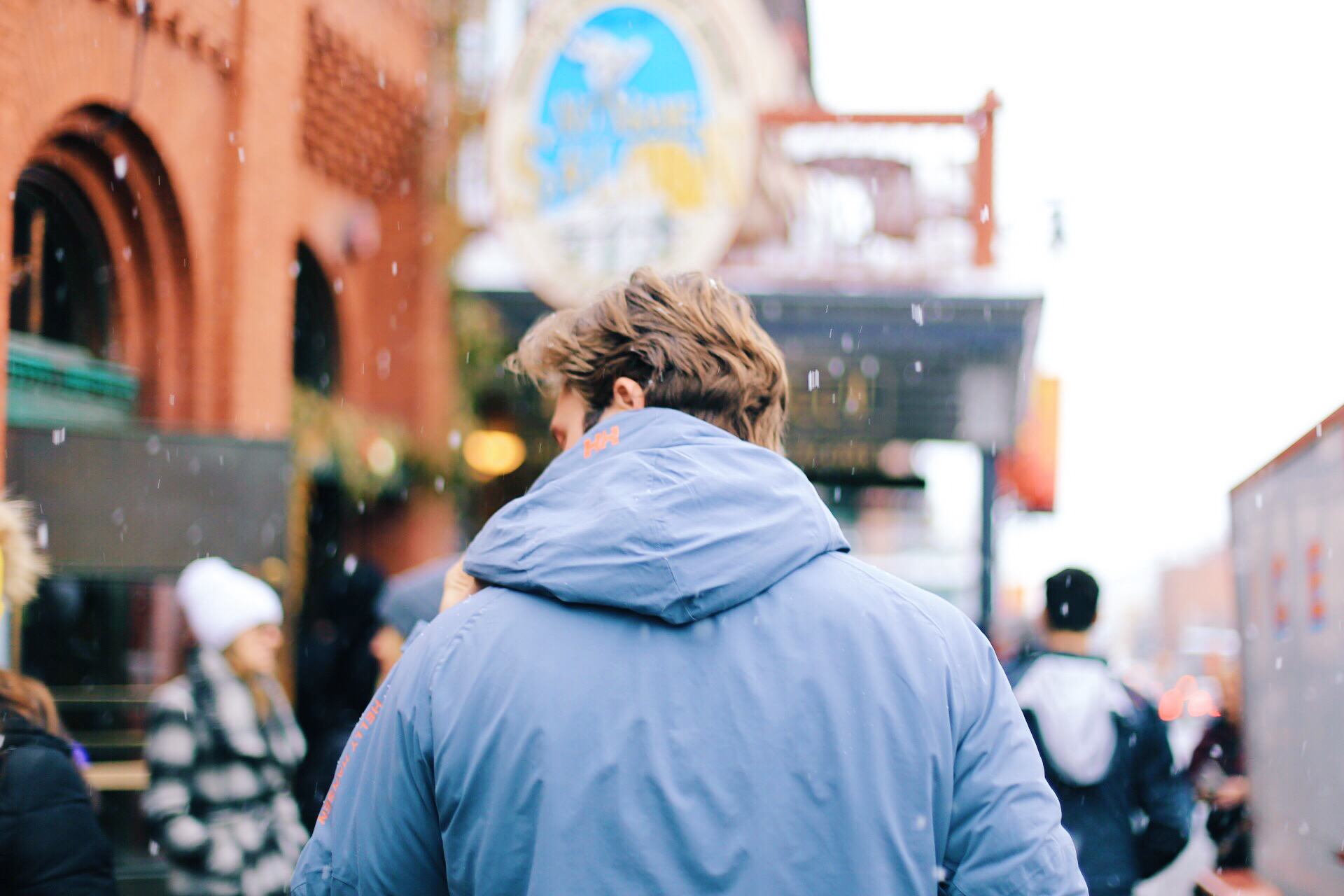 Walking the Park City Streets during Sundance