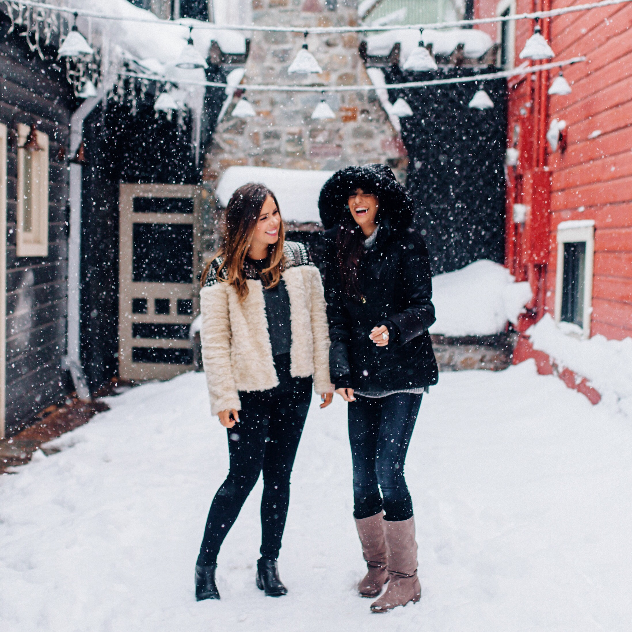 Snow days in Park City / photo by http://www.anchoredimagephotography.com/