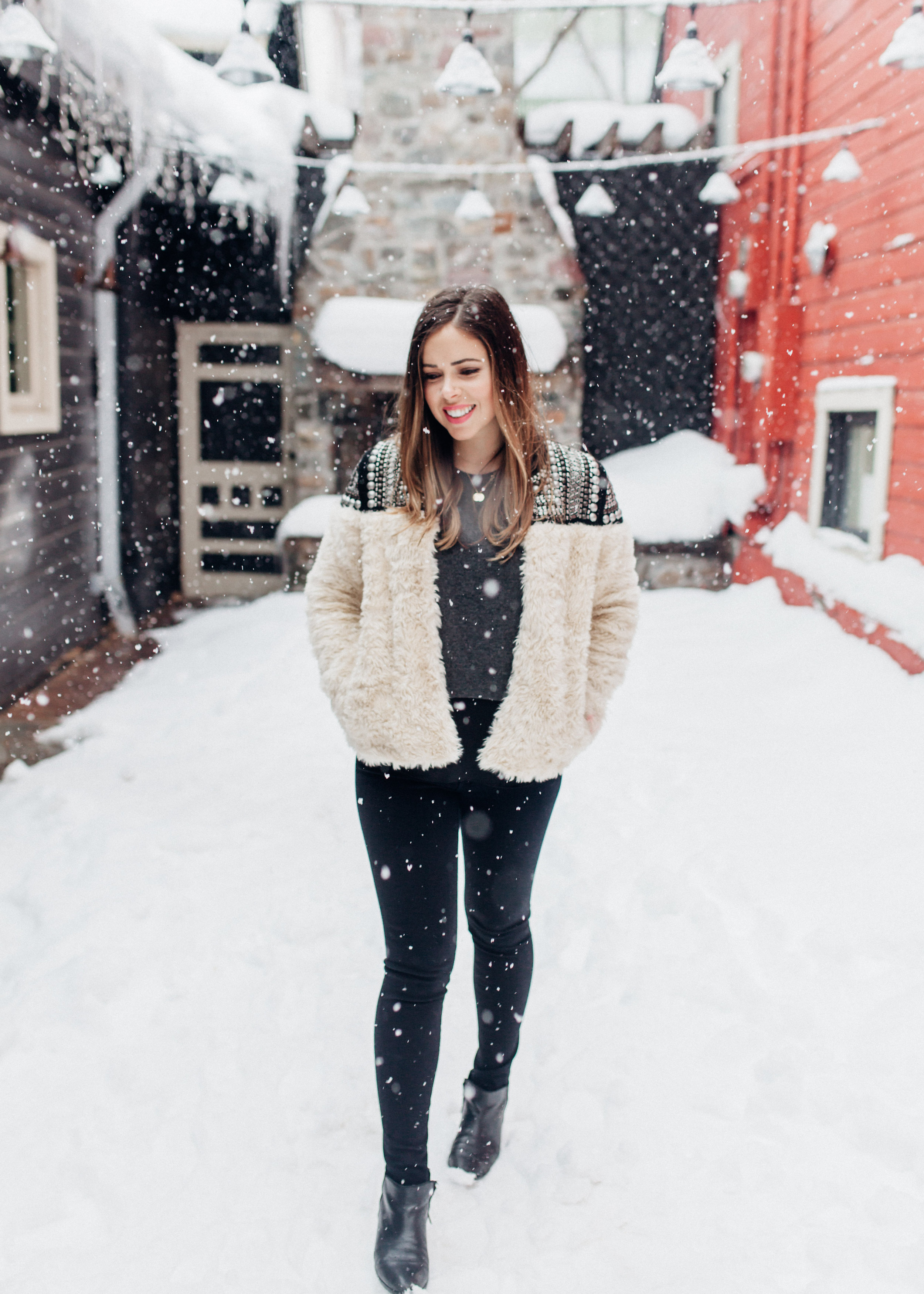 Snowy times at Sundance Film Festival / photo by http://www.anchoredimagephotography.com/
