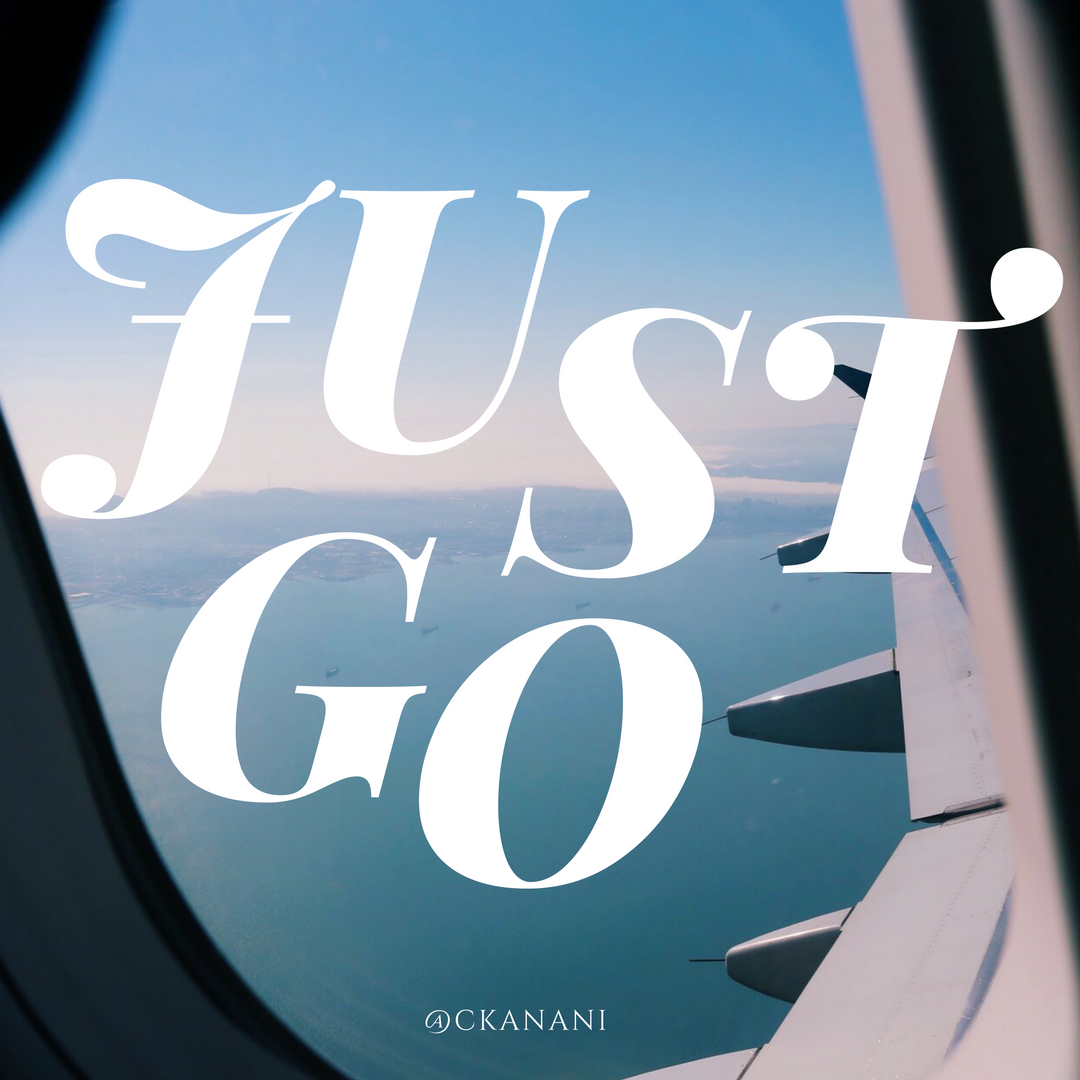 """Just go"" #travelquote 