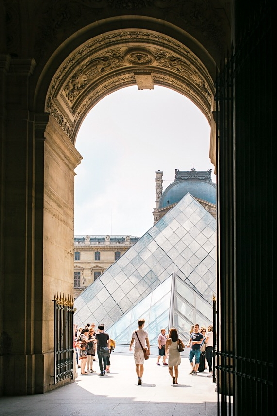 The Louvre is a necessary stop on all Paris itineraries