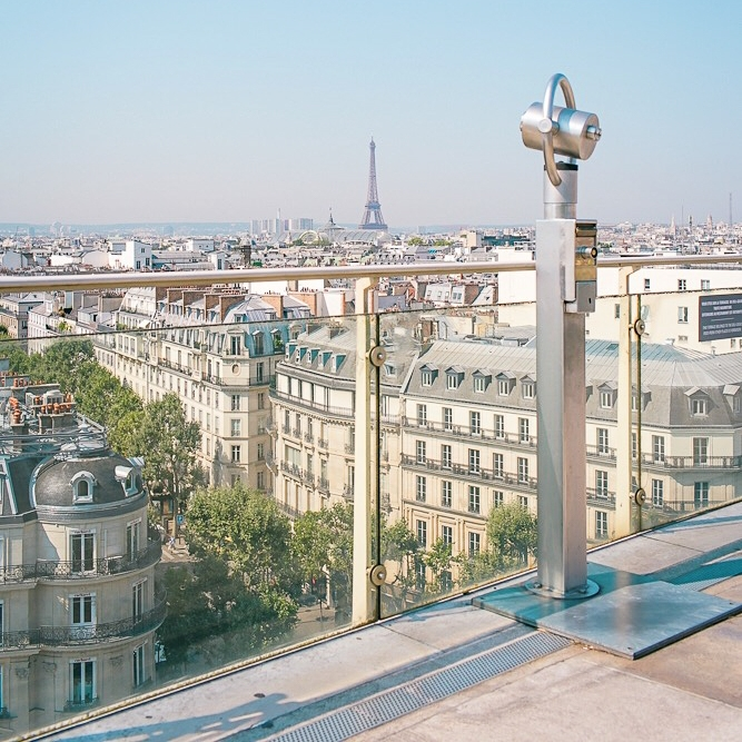 Your Paris itinerary 6 days should include taking in the view from Printemps department store terrace