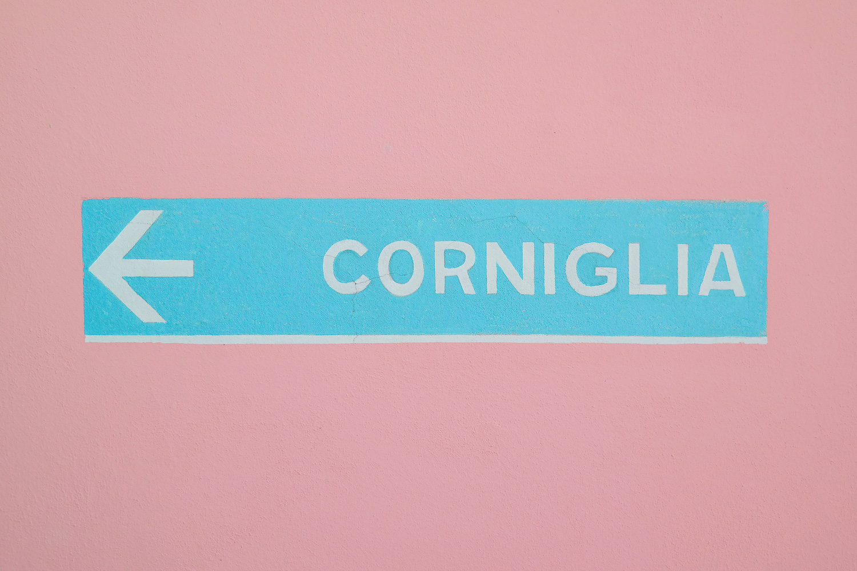 This way to Corniglia, Italy!