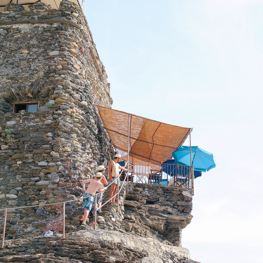 Where to eat in Cinque Terre: Al Castello