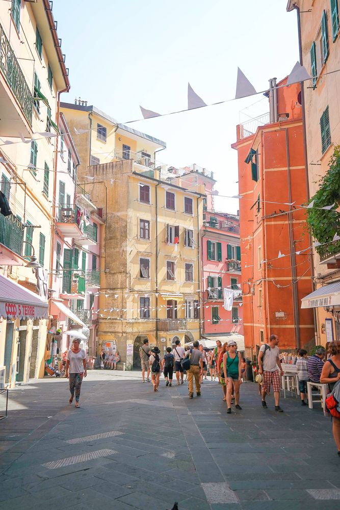 The best place to stay in Cinque Terre: Vernazza