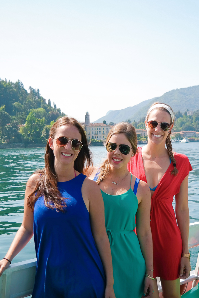 How to get to Bellagio, Italy - by ferry!