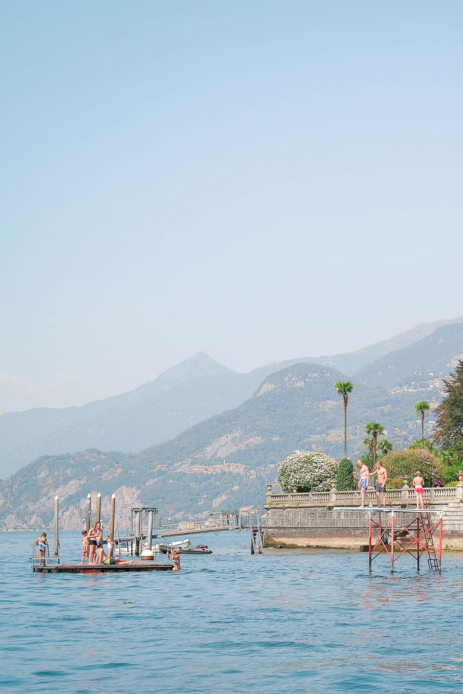 Summertime in Lake Como, Italy