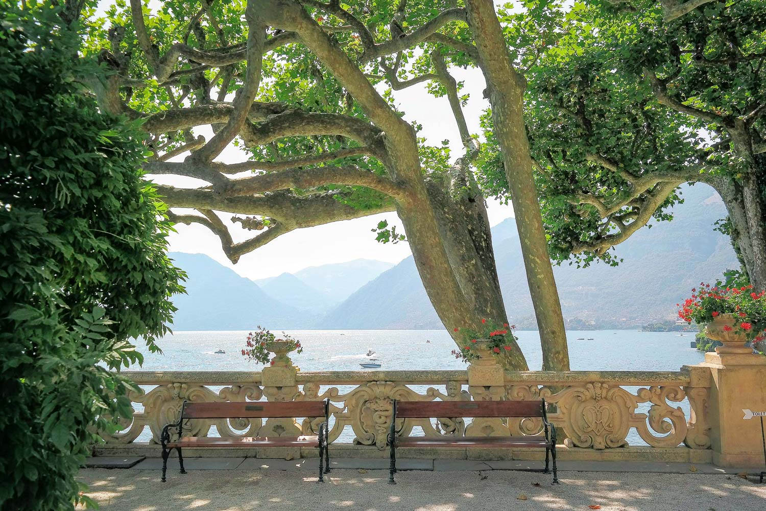 Lake Como in Northern Italy