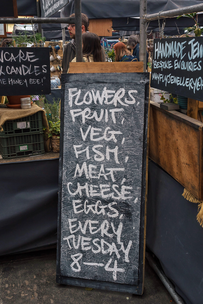 Altrincham Market sells flowers, fruit, veggies, meat, cheese, eggs, and more!