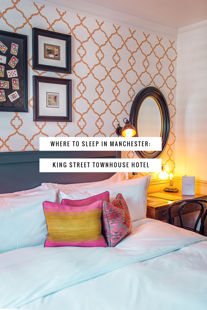 Manchester's King Street Townhouse Hotel: Central, Affordable, Instagram-Worthy! Here's why you need to stay here during your Manchester visit.