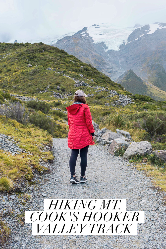 Everything you need to know about hiking Mount Cook's Hooker Valley Track on New Zealand's south island. The perfect walk if you are looking for something easy but still picturesque!