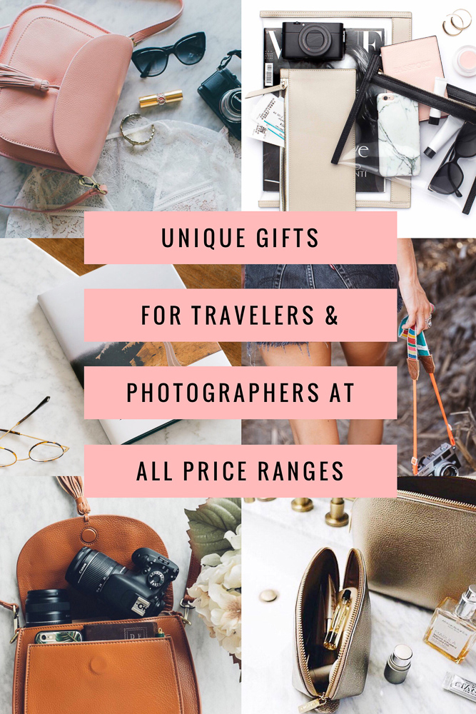 Looking for something unique to buy for the traveler and/or photographer in your life?  Look no further!  Here are 8 perfect gifts at all price ranges!
