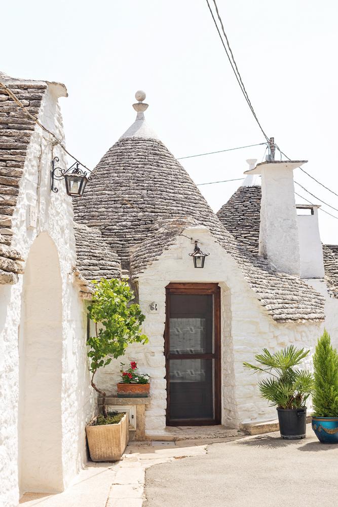 Unique trullo buildings in Alberobello, Puglia, Italy