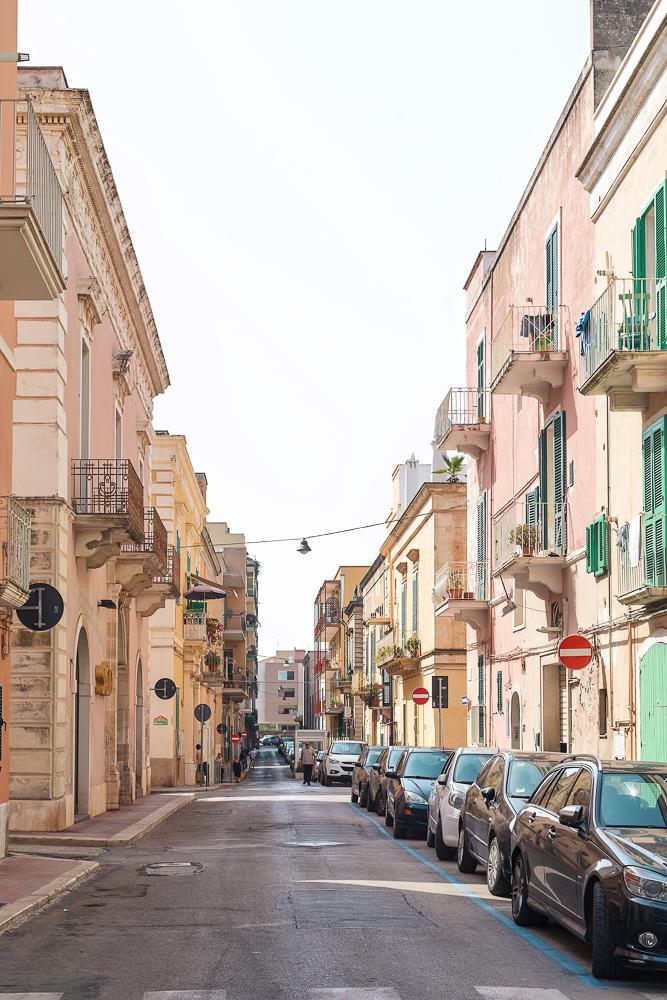 The colorful streets of Monopoli, Puglia, Italy