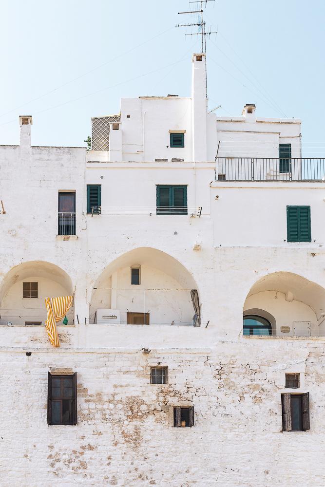 The beautiful castle in Ostuni, Puglia, Italy