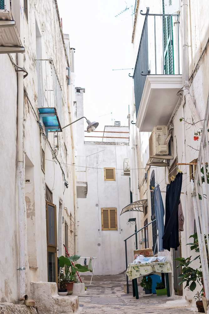 The famous white town, Ostuni, sits high on a hill (three hills, apparently) and is one of the most sought after Puglia destinations