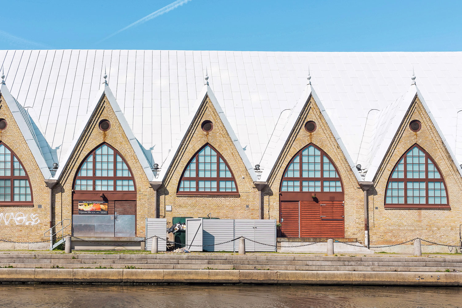 Feskekorka ('fish church') - a photogenic indoor fish market in Gothenburg built in 1874