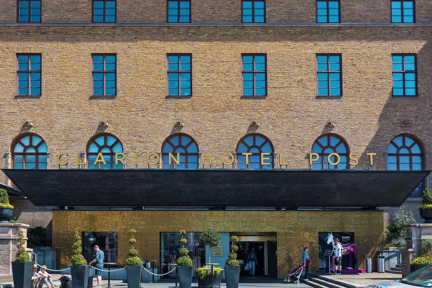 Clarion Hotel Post, a centrally-located hotel in a historic post office building in Gothenburg