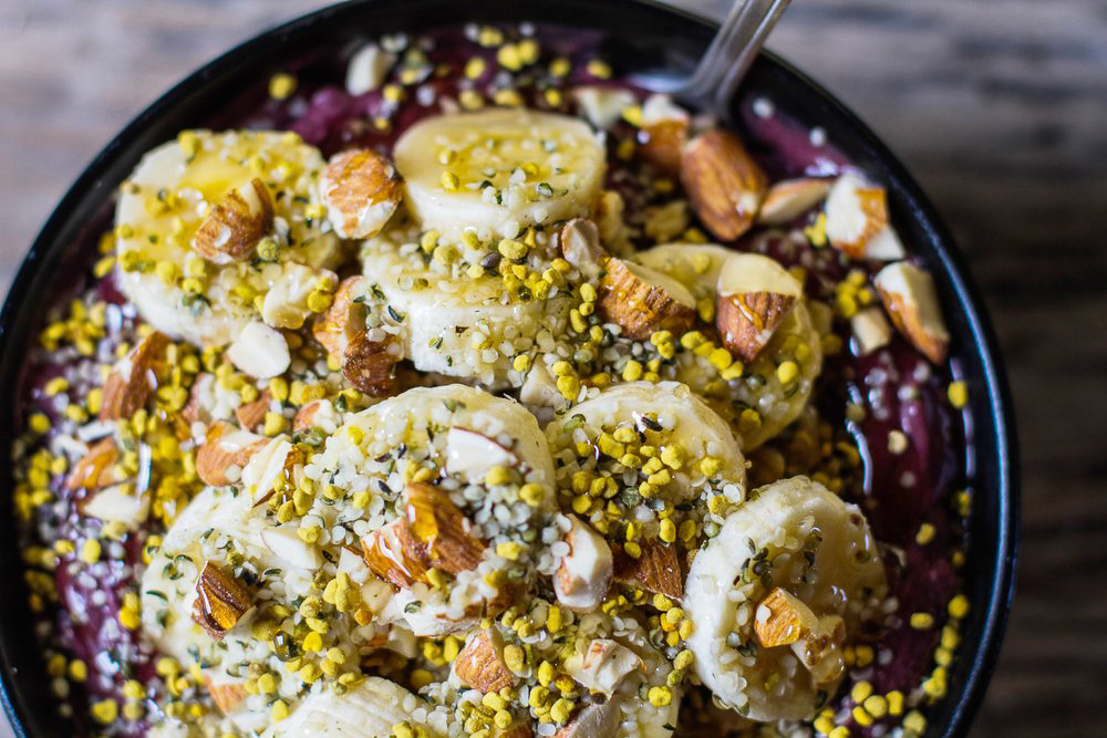 The banyan bowl from Basik Cafe in San Francisco is the best acai bowl you will ever try!