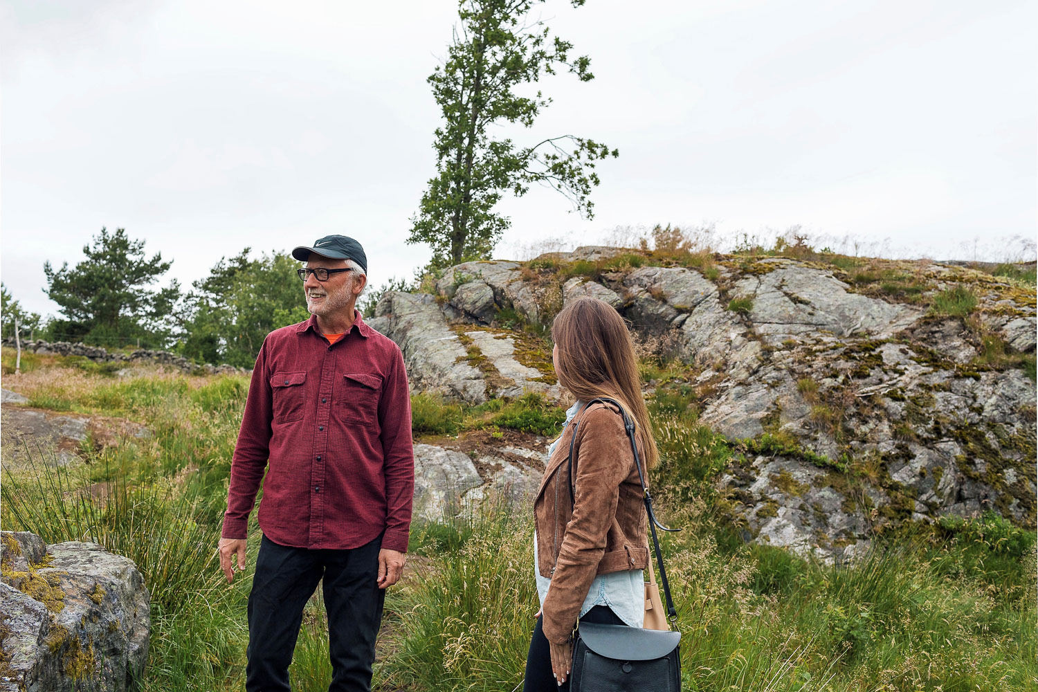 Walking around Pilane Sculpture Park with founder Peter Lennby