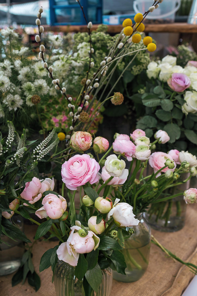 Some beautiful flowers for sale at Altrincham Market