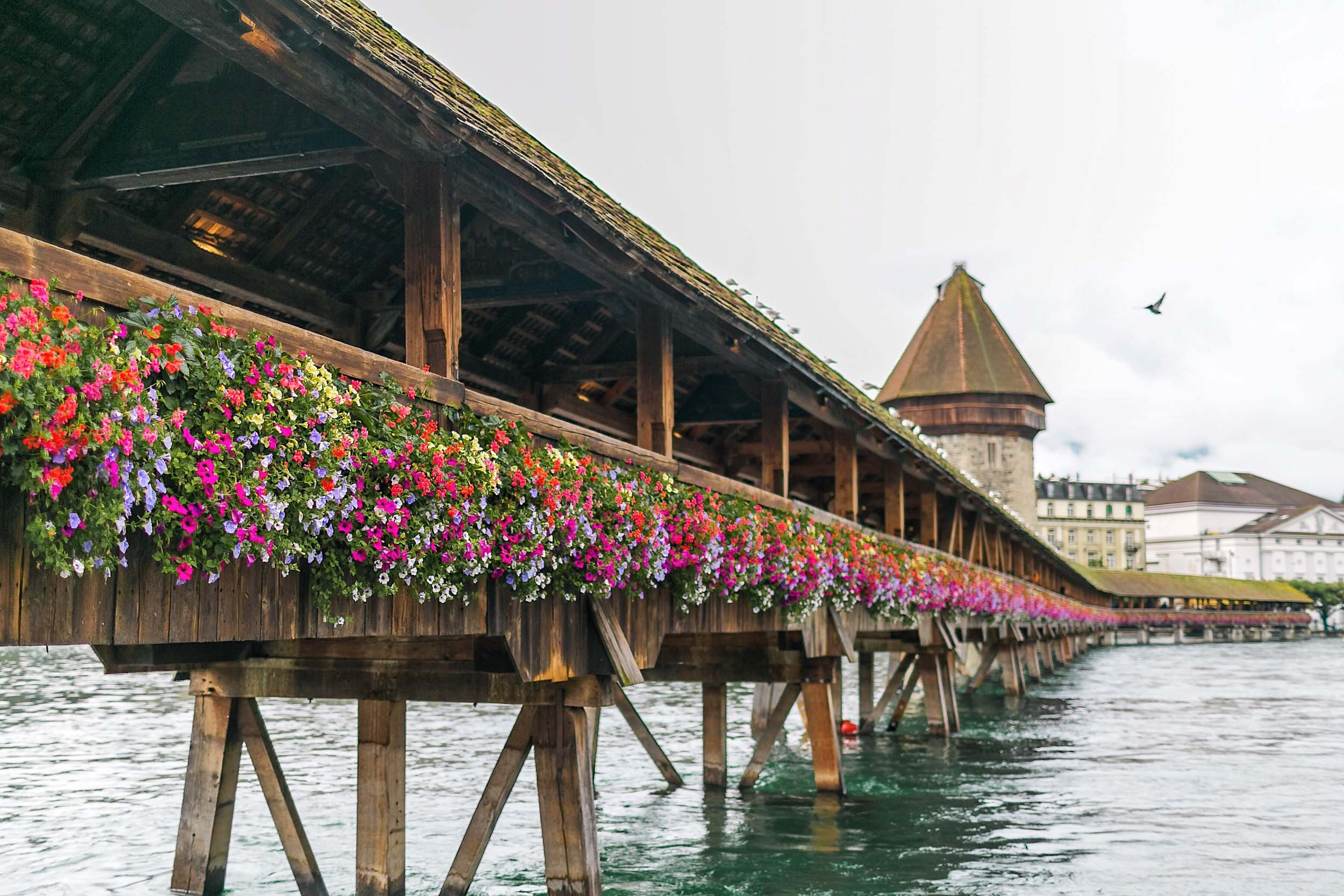 Lucerne and Interlaken, Switzerland. A great option for one week in Europe