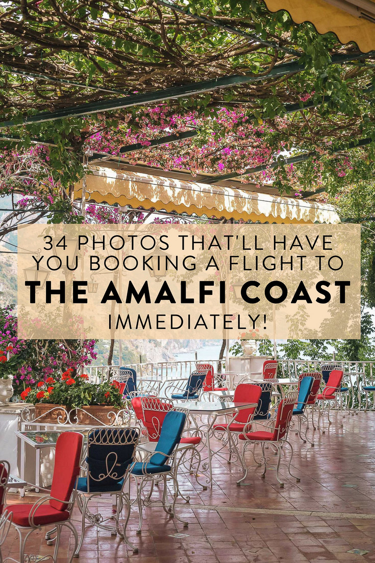 34 pictures of the Amalfi Coast that will make you want to book a flight immediately! Including Positano, Amalfi, Atrani, Praiano, Furore, and more.