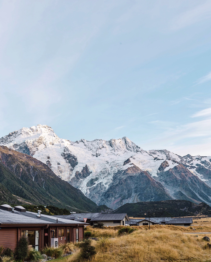 Don't miss the Mount Cook Village when visiting New Zealand
