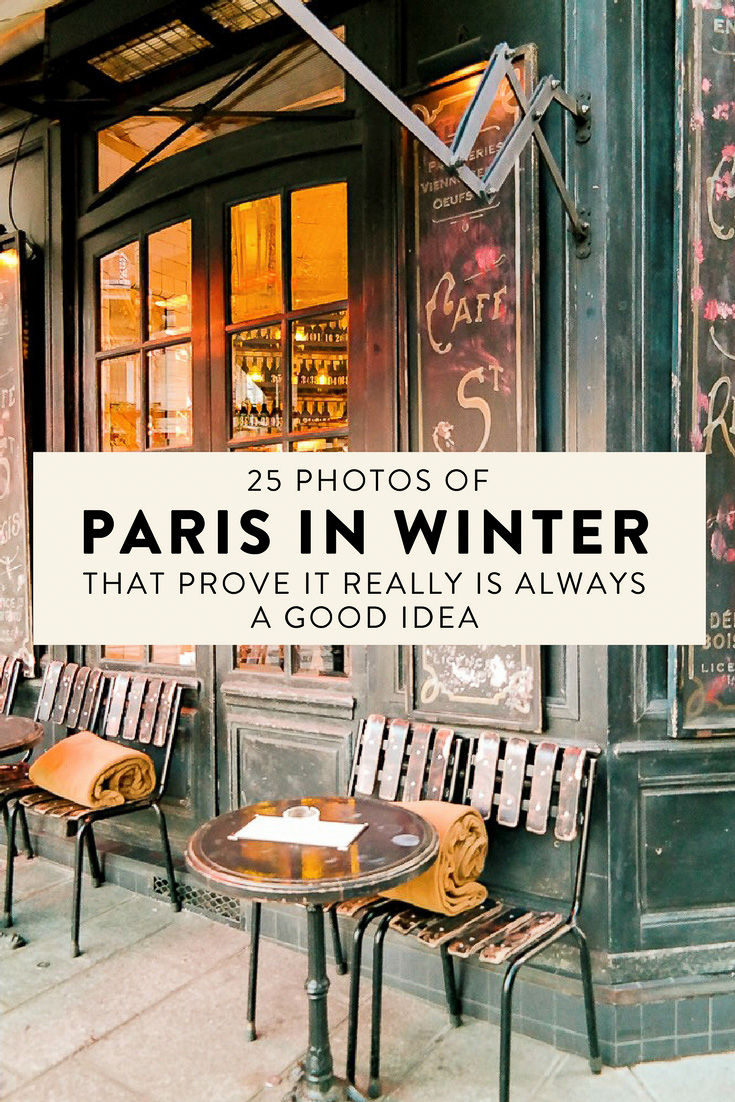 Wondering where to travel to this winter? Here are 25 photos of Paris in December that prove it really is always a good idea!