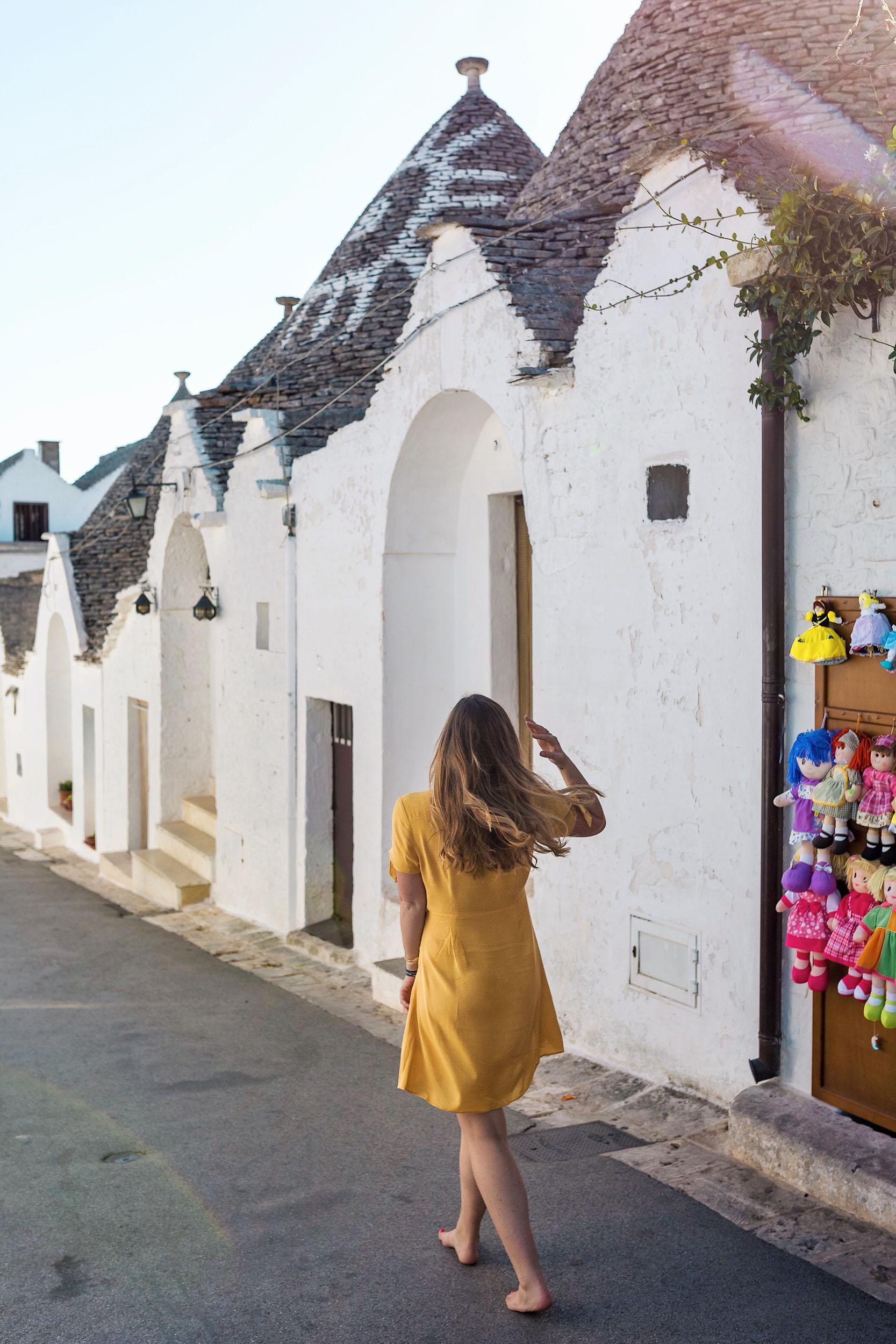 My favorite thing to do in Alberobello, Puglia, Italy: explore!