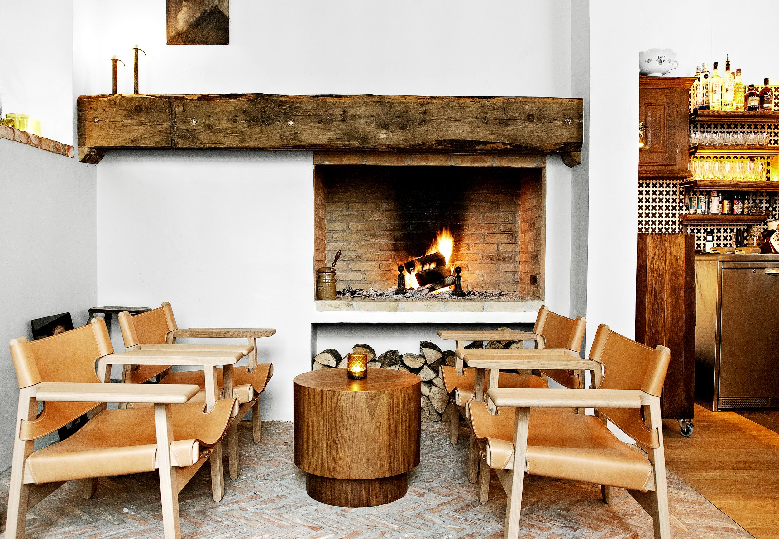 Things to do in Copenhagen in winter: Lidkoeb is the perfect cozy spot to grab cocktails any time of year